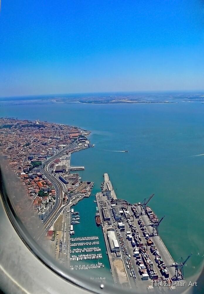 Lisbon Harbour... by terezadelpilar ~ art & architecture