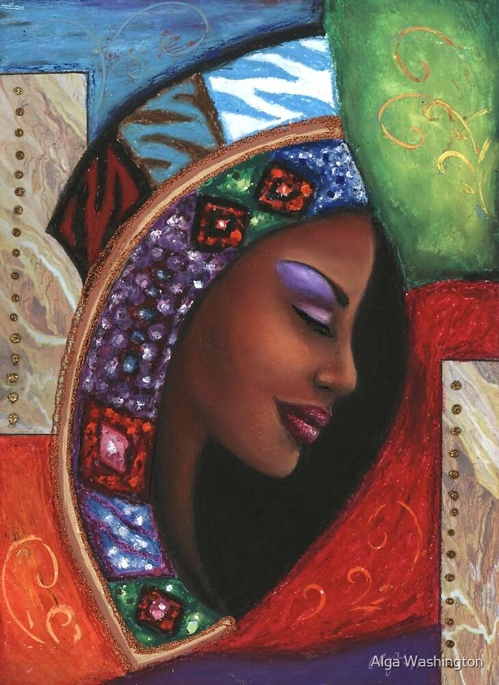 Colorful Thought by Alga Washington