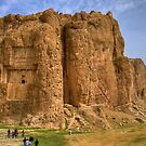 Naqsh-E Rostam - Necropolis - Single Tomb - Iran  by Bryan Freeman