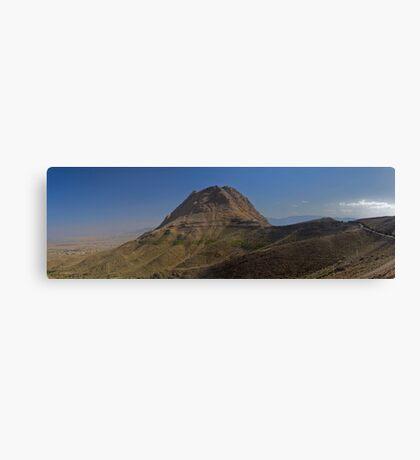 Sofeh Mountains - Esfahan - Iran - Panorama Canvas Print