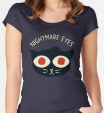 Nightmare Eyes Women's Fitted Scoop T-Shirt