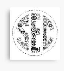 SEC with Logos Metal Print