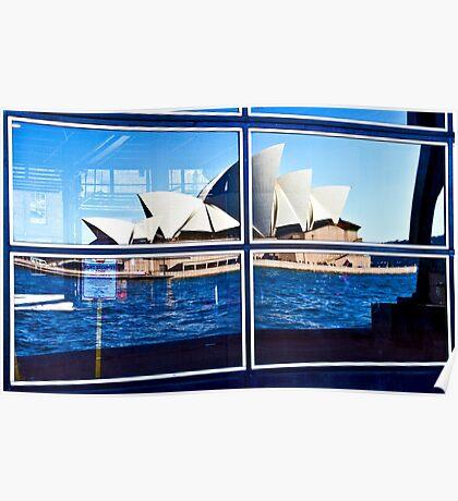 A Reflection on Sydney Opera House - Australia Poster