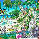 Mermaid Island by Chuck Whelon