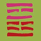 21 Reform I Ching Hexagram by SpiritStudio
