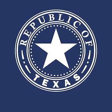 Republic of Texas Lone Star Flag of Awesomeness! by Fragoutdesign