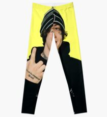 lil xan yellow dood Leggings