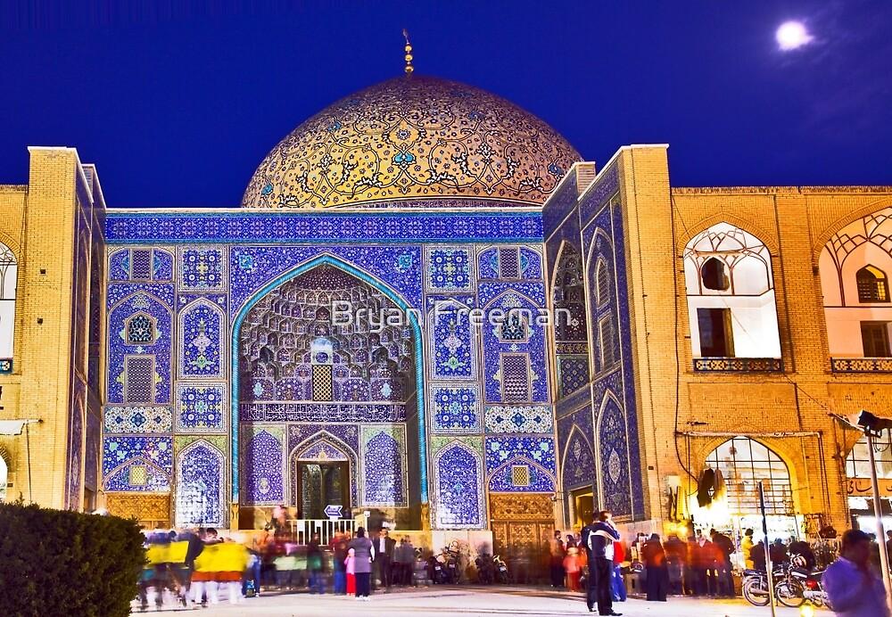 Sheikh Lotf Allah Mosque - Esfahan - Iran by Bryan Freeman