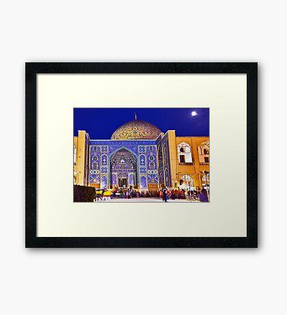 Sheikh Lotf Allah Mosque - Esfahan - Iran Framed Print