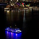 Sydney Opera House & Deep Blue - Sydney Harbour - Australia by Bryan Freeman