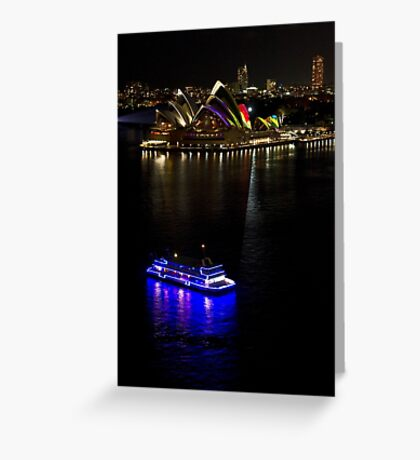 Sydney Opera House & Deep Blue - Sydney Harbour - Australia Greeting Card