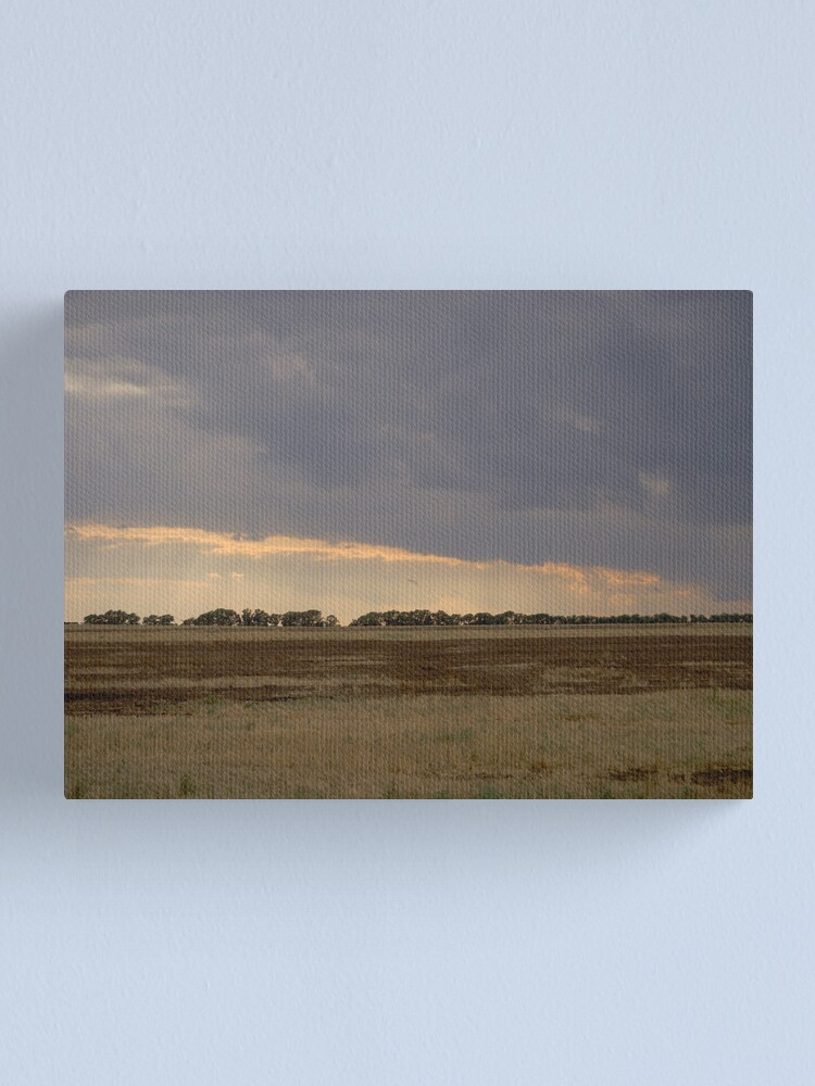 Alternate view of the angle of sombre Canvas Print