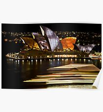Sydney Opera House - Vivid Festival 2010 Poster