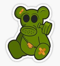 Toxic Teddy - Ein post-apokalyptisches Spielzeug Sticker
