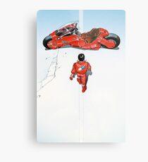 Akira / Motorcycle Metal Print