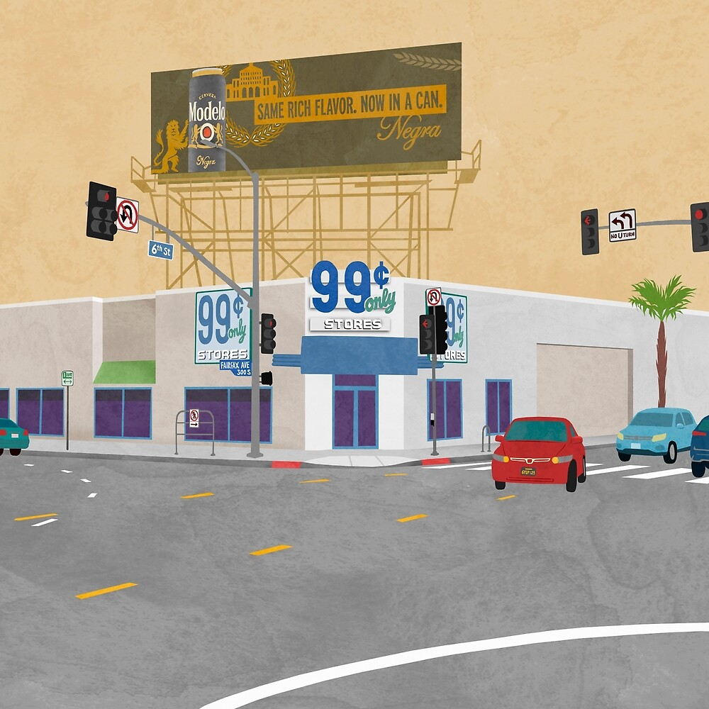 99 Cent Store by challisandroos