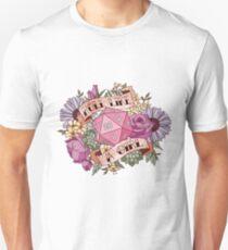 Roll Like a Girl Unisex T-Shirt