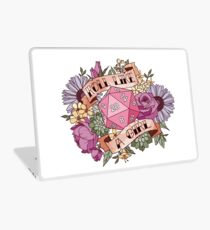 Roll Like a Girl Laptop Skin