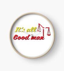 It's all good man Clock