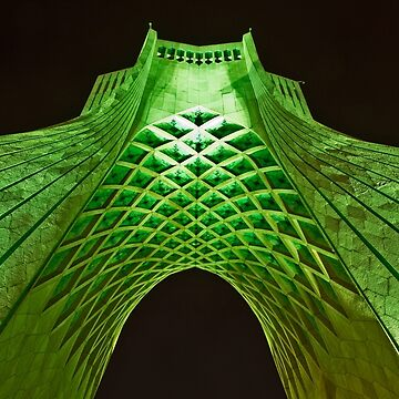 Azadi Tower (Green) -Tehran - Iran by BryanFreeman