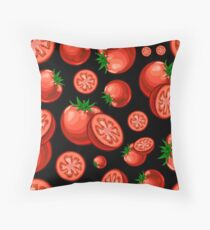 Veggiephile - Tomatoes Throw Pillow