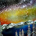 Christmas at Lake Tahoe, California by Ed Moore