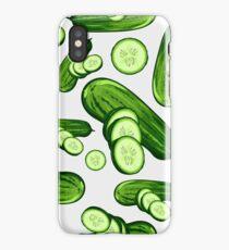 Veggiephile - Cucumbers iPhone Case