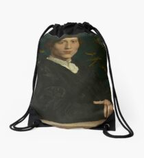 Hans Holbein the Younger - Derich Born  Drawstring Bag