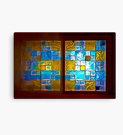 The Amazing Abbasi Hotel - Stained Glass - Esfahan - Iran Canvas Print