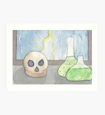 Half past bones Art Print