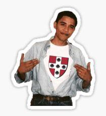 Wesleyan University Obama Sticker Sticker