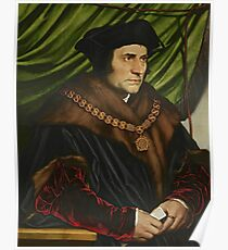 Hans Holbein the Younger - Sir Thomas More Poster