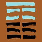 23 Deterioration I Ching Hexagram by SpiritStudio