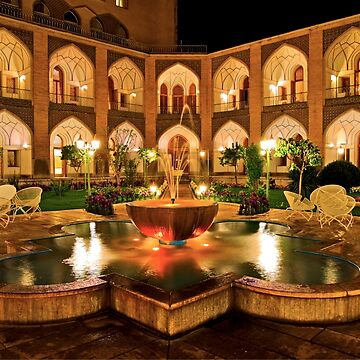 The Amazing Abbasi Hotel - Isfahan - Iran by BryanFreeman