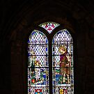 Another of Chester Cathedral's beautifull windows by karen Bradshaw