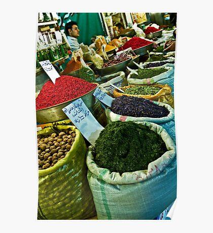 Spice Bazaar - Isfahan - Iran Poster