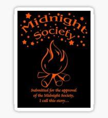 Midnight Society Sticker