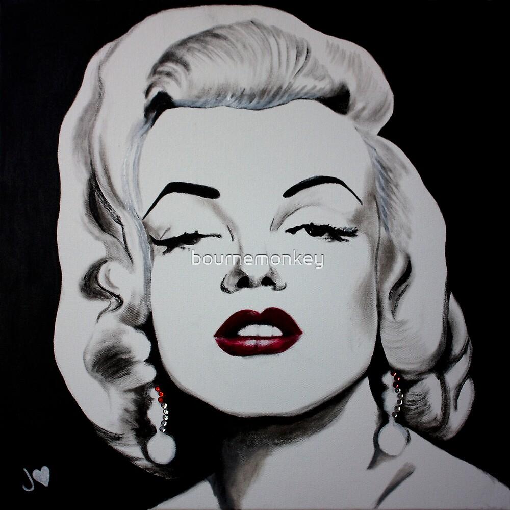 Marilyn Monroe by bournemonkey