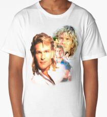 Patrick Swayze Mural Long T-Shirt