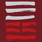 25 Innocence I Ching Hexagram by SpiritStudio