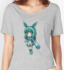 Glaceon Magical Girl Chibi Women's Relaxed Fit T-Shirt