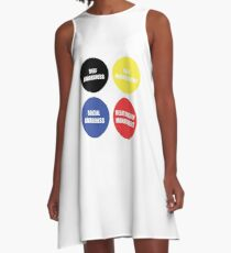 Emotional Intelligence A-Line Dress