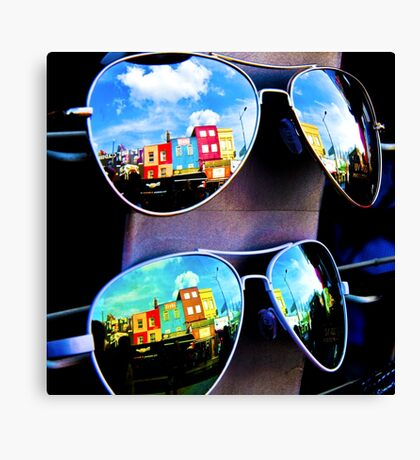 Goggles - Camden Markets - London - England Canvas Print
