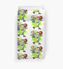The Loud House Luan loud and Mr. Coconuts Duvet Cover