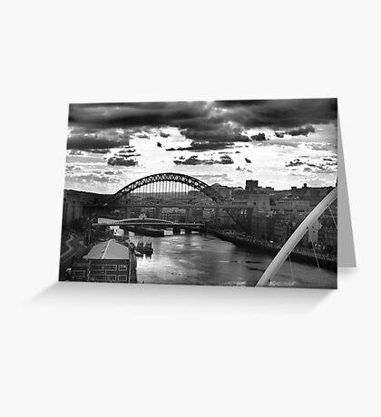 Newcastle skyline Greeting Card
