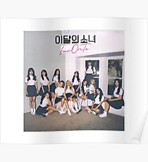 LOONA / LOOΠΔ / 이달의 소녀 / FavOriTe Lead Single Poster