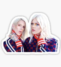Shane and Jeffree Star Twinning Sticker
