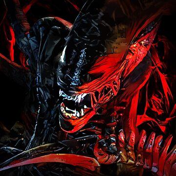 Blood Monster by hustlart