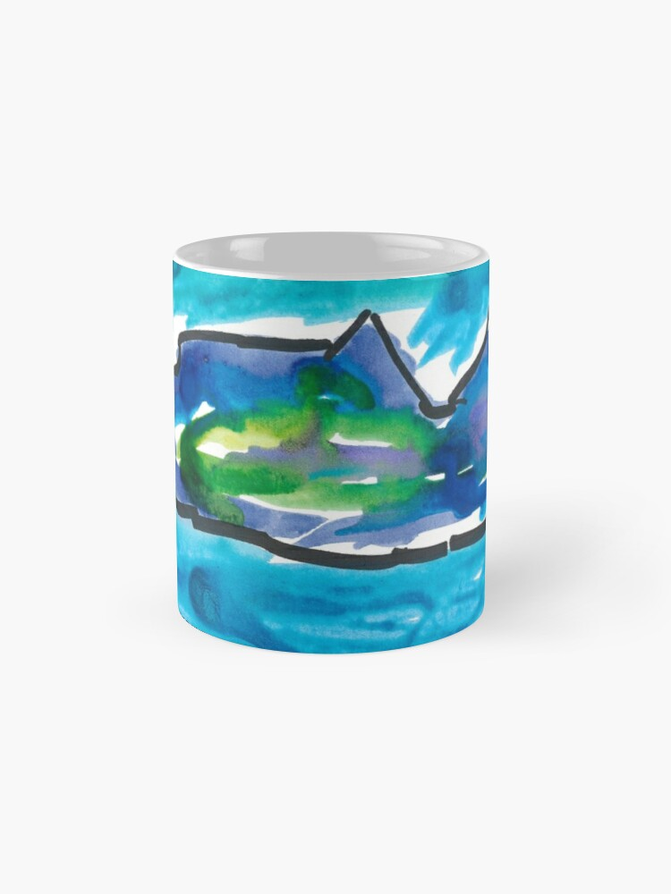 Alternate view of Fish in the Sea Mugs
