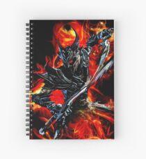 Knight Monster  Spiral Notebook